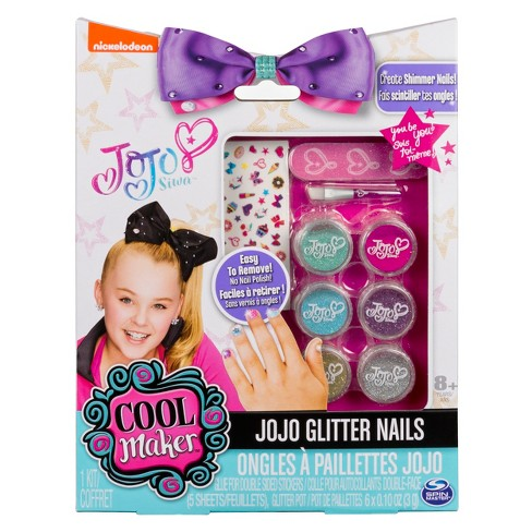 JoJo Siwa Glitter Nails - Glitter Manicure Kit with Custom Decals - image 1 of 4