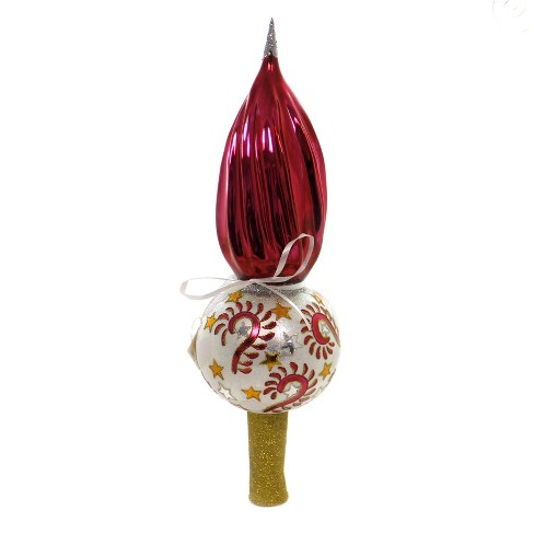 "Tree Topper Finial 17.0"" Carnival Tree Topper Christmas Stars  -  Tree Toppers - image 1 of 2"