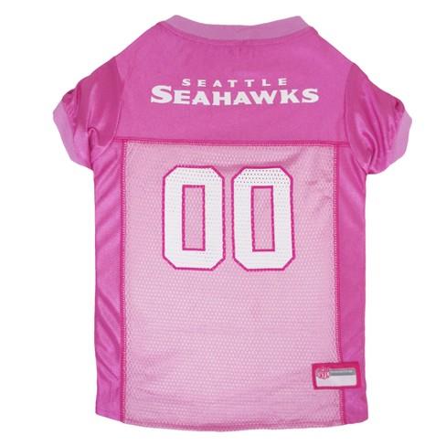 NFL Pets First Pink Pet Football Jersey - Seattle Seahawks   Target 0e6763ecc