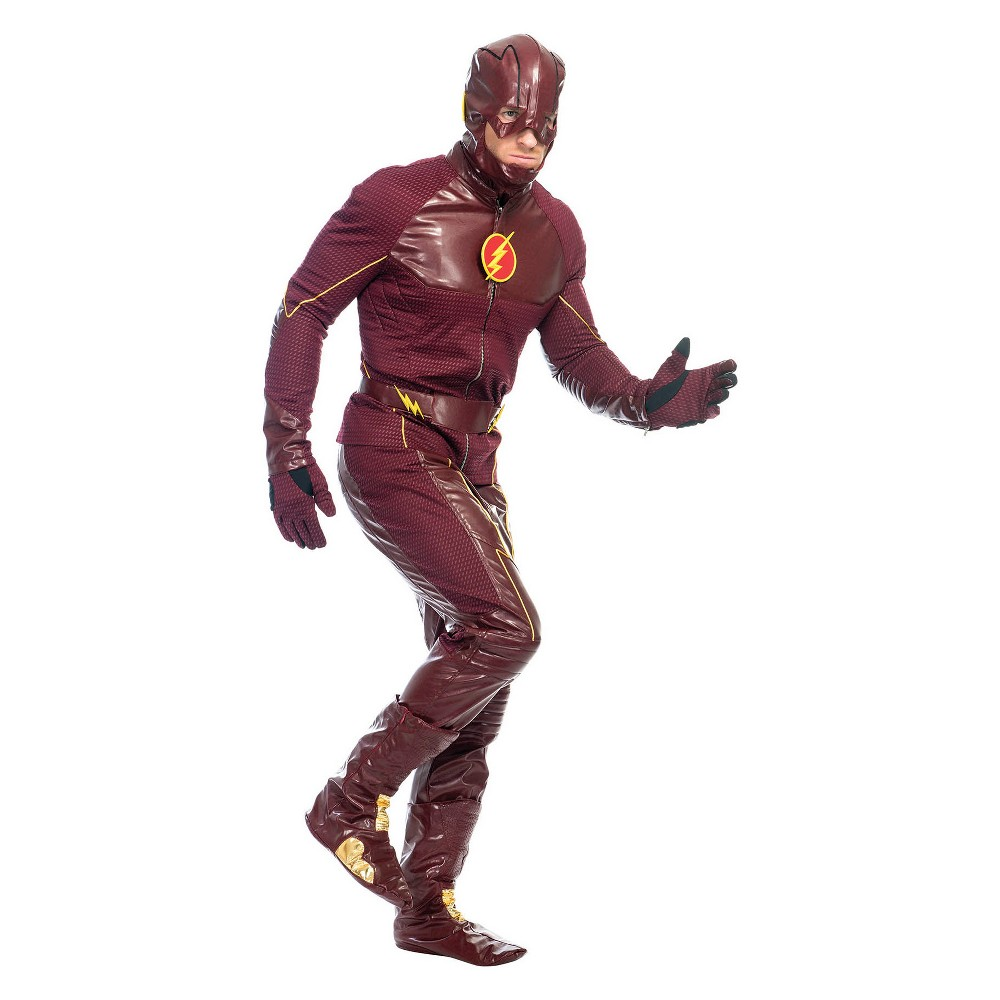Image of Halloween Men's DC Comics Flash Halloween Costume L, Size: Small, MultiColored