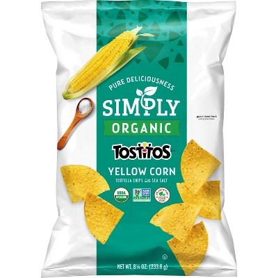 Tortilla & Corn Chips: Simply Tostitos Yellow Corn