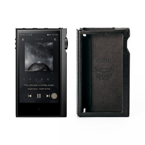 Astell & Kern KANNA ALPHA Dual DAC Music Player with Leather Protective Case - image 1 of 4