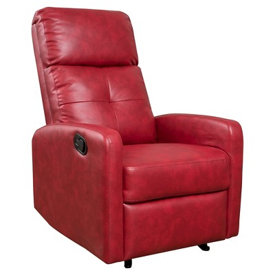 Samedi Faux Leather Recliner Club Chair - Christopher Knight Home