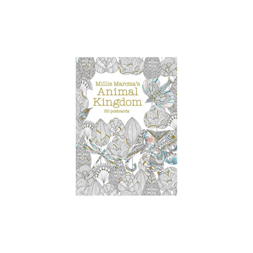 Millie Marotta's Animal Kingdom : 50 Postcards (Stationery)