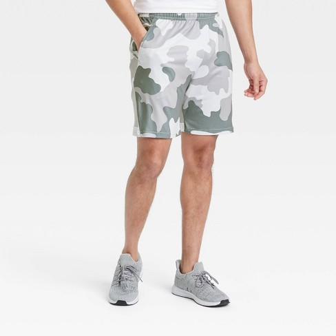 Men's Camo Print Training Shorts - All in Motion™ - image 1 of 4