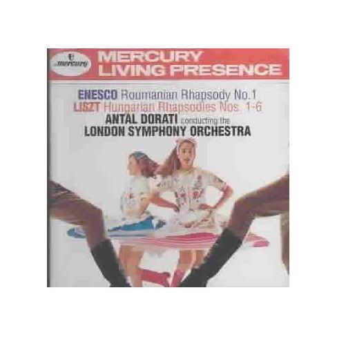 Enescu - Enesco: Roumanian Rhapsody No. 1; Liszt: Hungarian Rhapsodies Nos. 1-6 (CD) - image 1 of 1