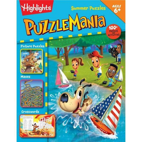 Summer Puzzles - (Highlights Puzzlemania Activity Books) (Paperback) - image 1 of 1