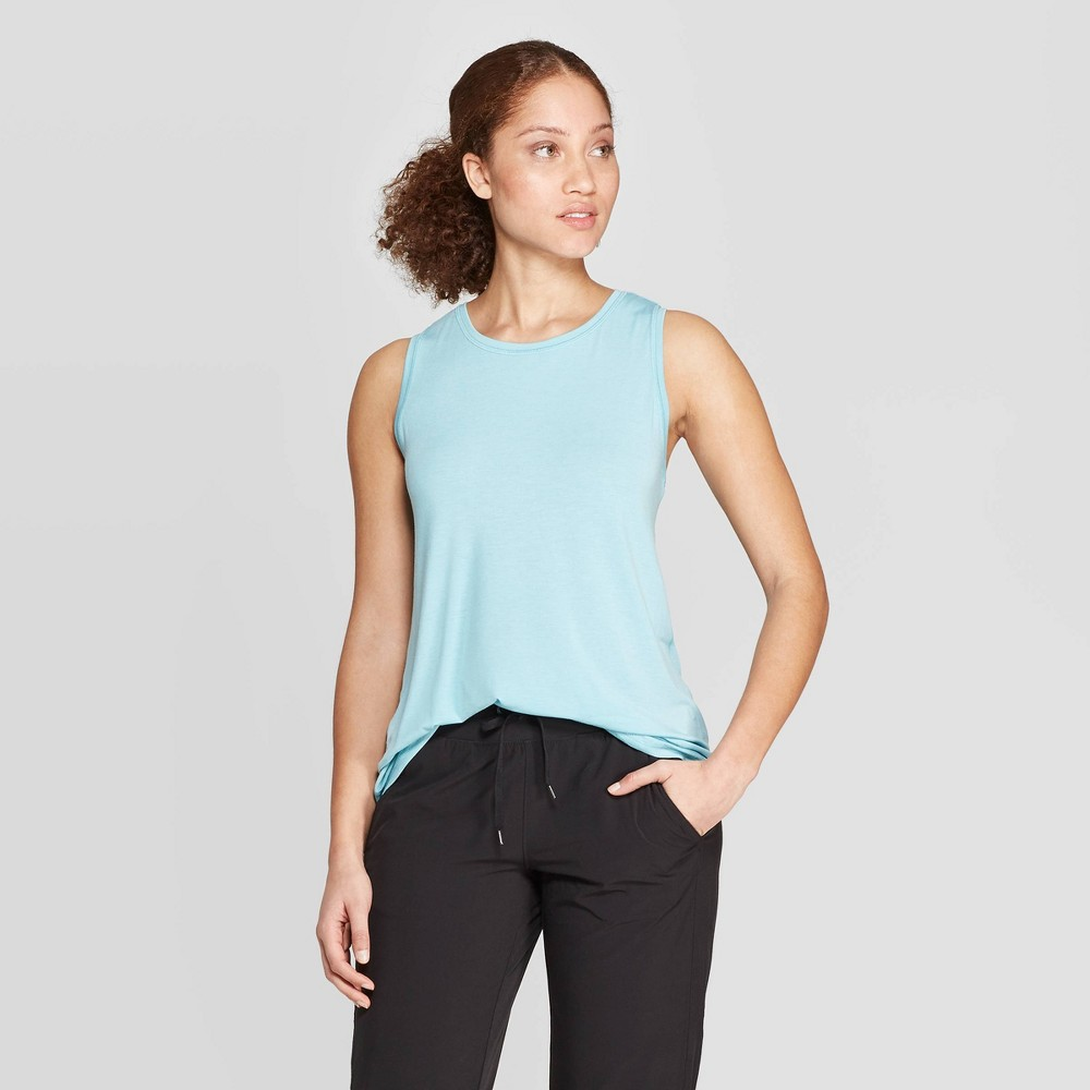 Women's Active Tank Top - C9 Champion Aqua (Blue) Xxl