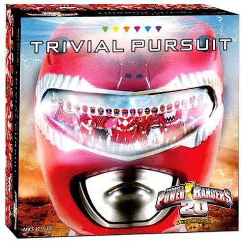 Power Rangers 20th Anniversary Edition Trivial Pursuit Board Game - image 1 of 1