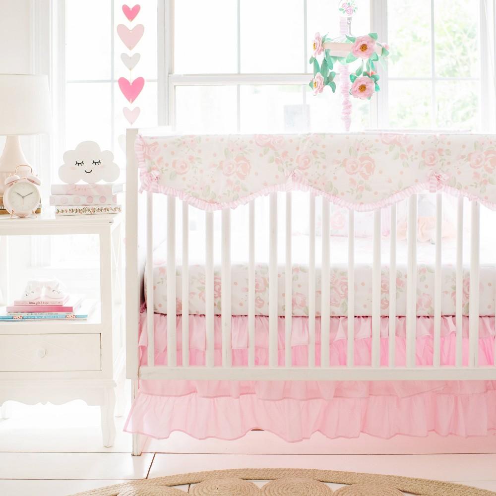 My Baby Sam Wildflower Crib Bedding Set 9pc