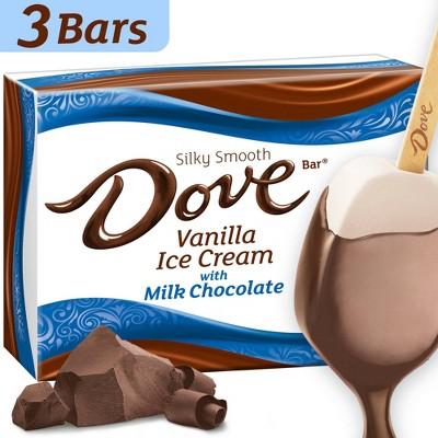 Dove Vanilla & Milk Chocolate Ice Cream Bars - 8.67floz