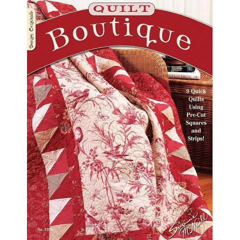 Quilt Boutique - by  Suzanne McNeill (Paperback) - image 1 of 1