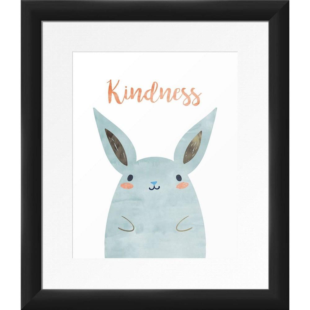 13 34 X 15 34 Kindness Framed Wall Art Black Ptm Images