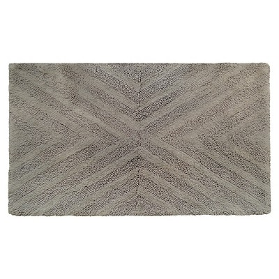 Textured Stripe Bath Rug (23 X38 )Creamy Chai - Project 62™ + Nate Berkus™