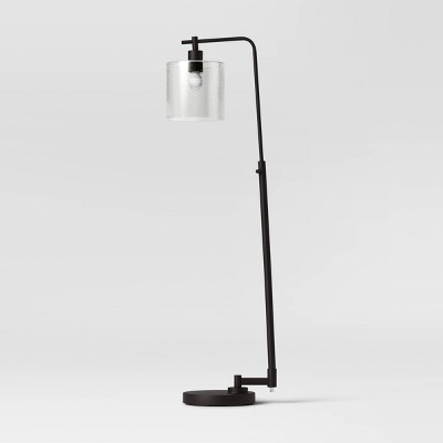 Hudson Industrial Floor Lamp Black - Threshold™