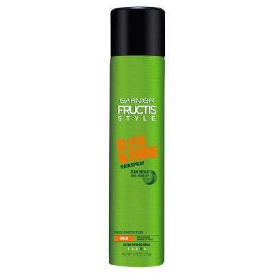 Hair Spray: Garnier Fructis Sleek & Shine Hairspray