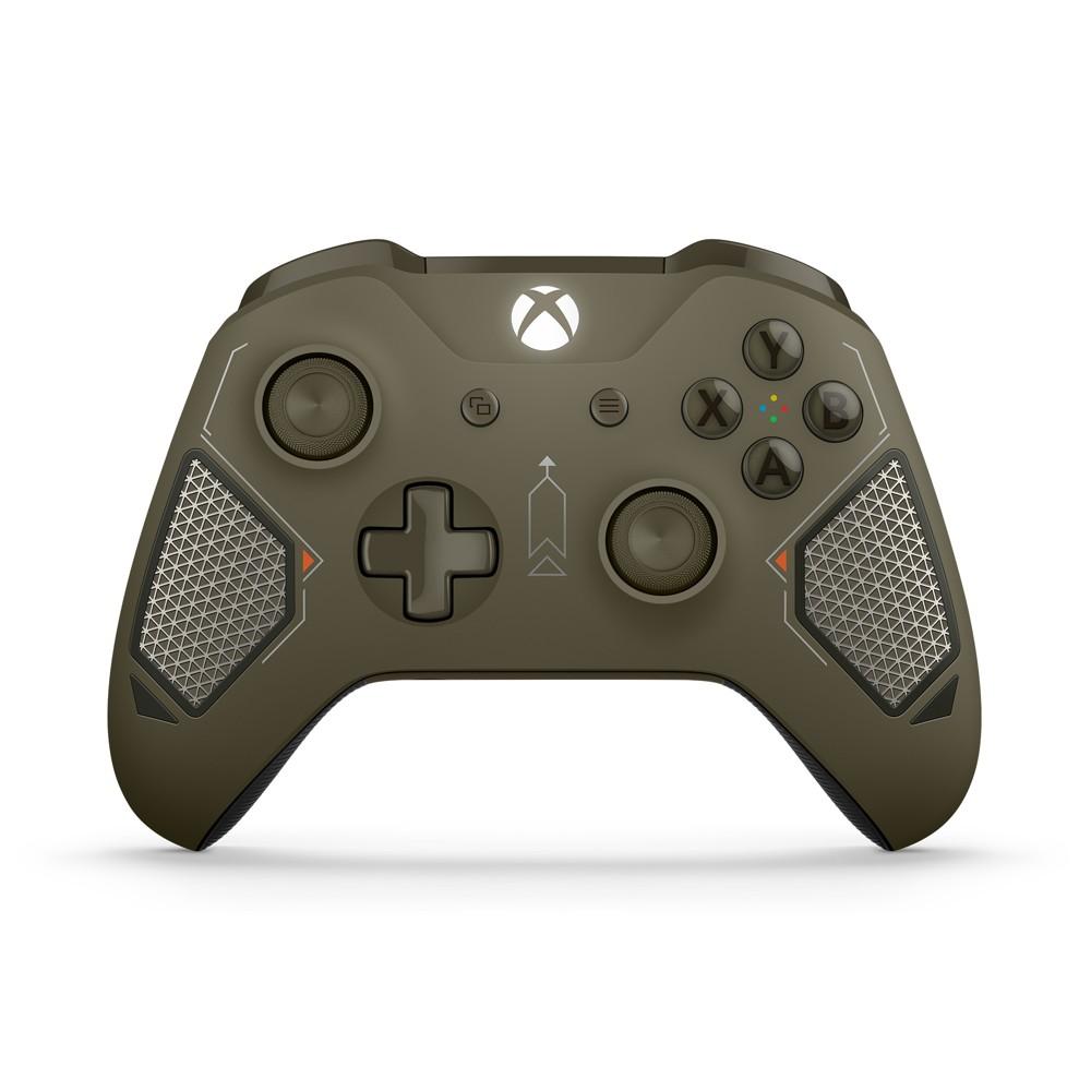 Xbox One Wireless Controller - Combat Tech, Green