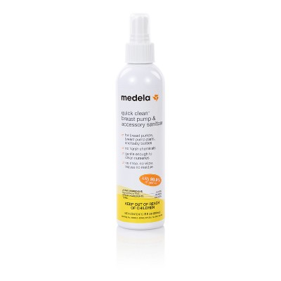 Medela Quick Clean Breast Pump & Accessory Sanitizer Spray - 8oz