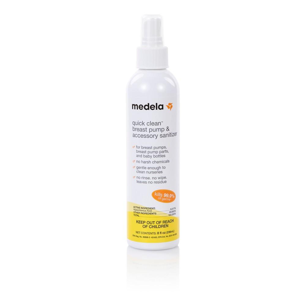 Image of Medela Quick Clean Breast Pump & Accessory Sanitizer Spray - 8oz