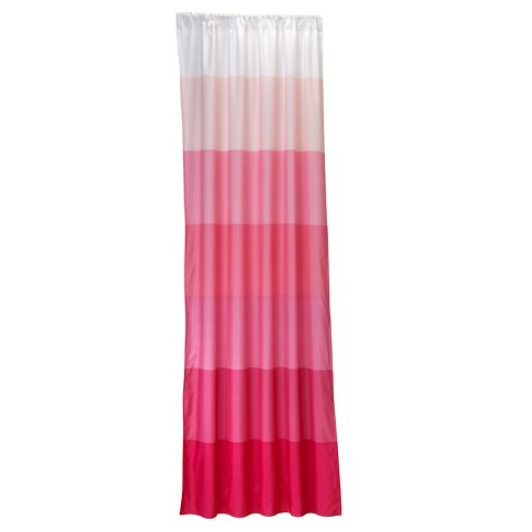 NoJo Curtain Panels - Pink Ombre - image 1 of 3