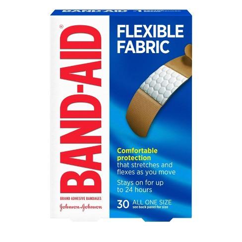 Band-Aid Flexible Fabric Brand Adhesive Bandages - 30ct - image 1 of 4