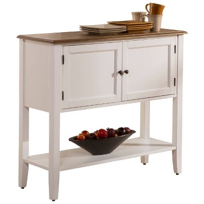 Bayberry Wood Server - White - Hillsdale Furniture