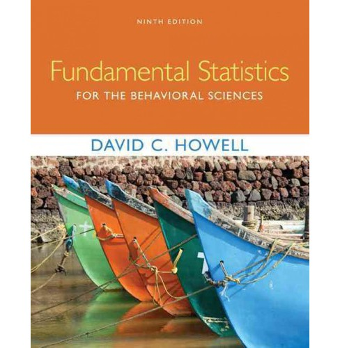Fundamental Statistics for the Behavioral Sciences (Hardcover) (David C. Howell) - image 1 of 1