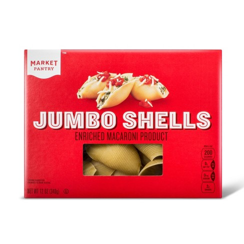 Jumbo Shells Pasta - 12oz - Market Pantry™ - image 1 of 1