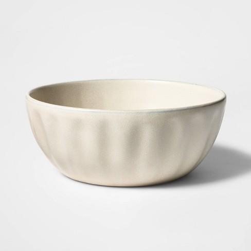 108oz Terracotta Snowflake Serving Bowl White - Threshold™ - image 1 of 3