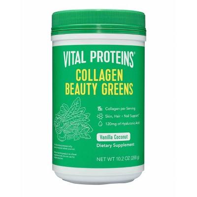 Vital Proteins Collagen Beauty Greens Powder - Coconut Vanilla - 10.2oz