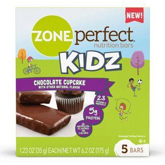 Zone Perfect Kidz Nutrition Bar Chocolate Cupcake - 1.23oz(5pk)