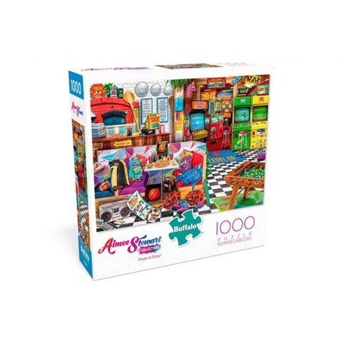 Buffalo Games Aimee Stewart: Collection Pixels And Pizza Puzzle 1000pc - image 1 of 2