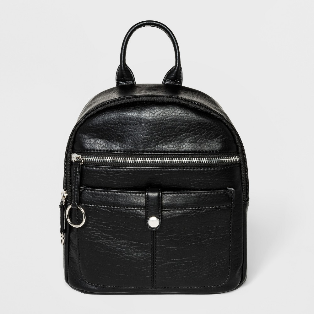 Bueno Washed Grainy Backpack - Black