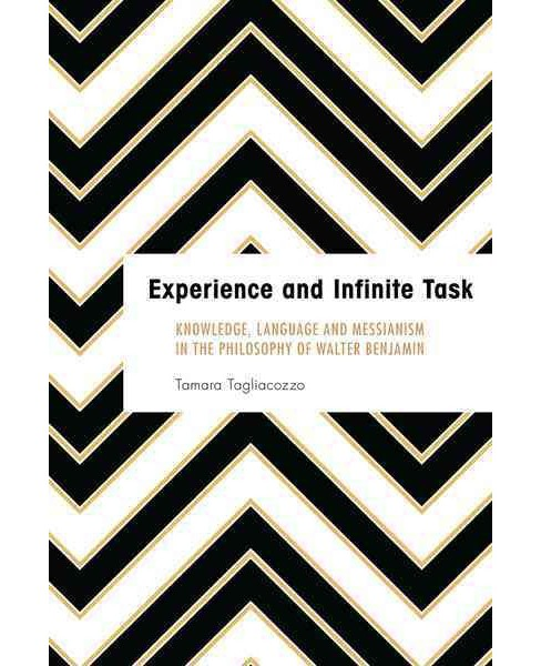Experience and Infinite Task : Knowledge, Language and Messianism in the Philosophy of Walter Benjamin - image 1 of 1