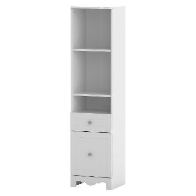 Pixel Bookcase Tower White 60  - Nexera