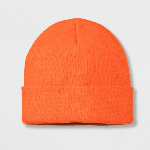 Boys' Solid Cuffed Beanie - Cat & Jack™ One Size - image 1 of 1
