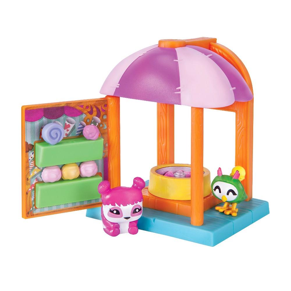 Animal Jam- Pet Hut - Cotton Candy Hut, Multi-Colored