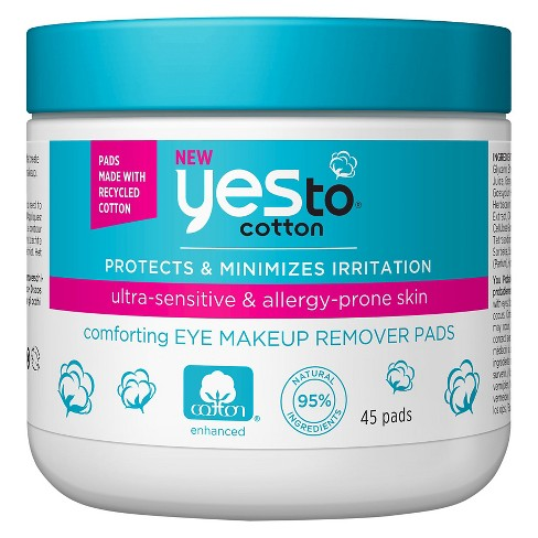 Yes to Cotton Eye Makeup Remover Pads - 45ct - image 1 of 2