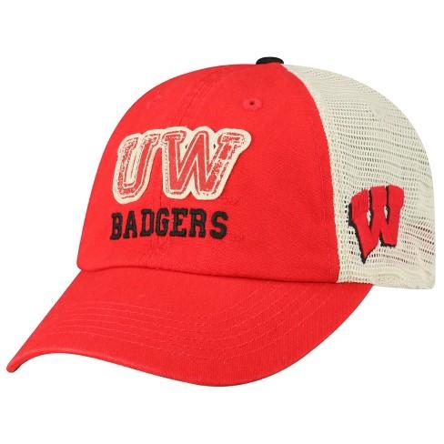 reputable site 80d5c 1cd44 Wisconsin Badgers Baseball Hat