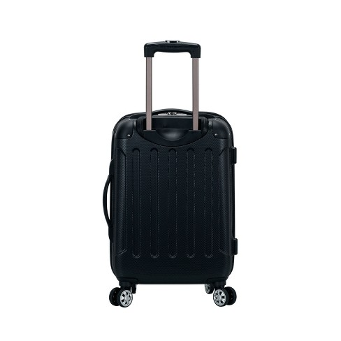 "Rockland Sonic 20"" Expandable Hardside Carry On Suitcase - Black - image 1 of 4"