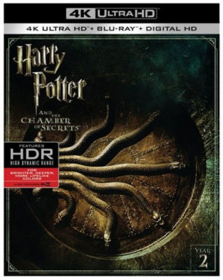Harry Potter And The Chamber Of Secrets (4K/UHD + Blu-ray + Digital)