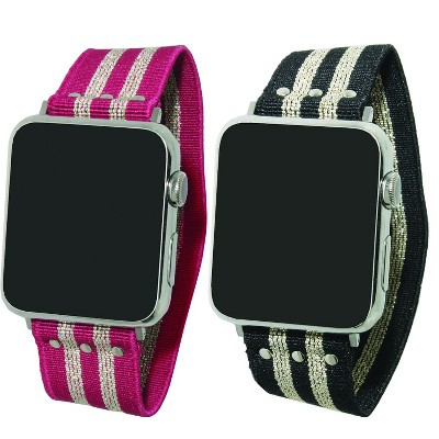 Olivia Pratt Printed Elastic Oversized Strap Apple Watch Band