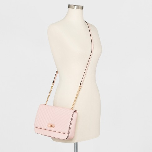 0c03e83d3b Quilted Crossbody Bag - A New Day™ Light Pink   Target