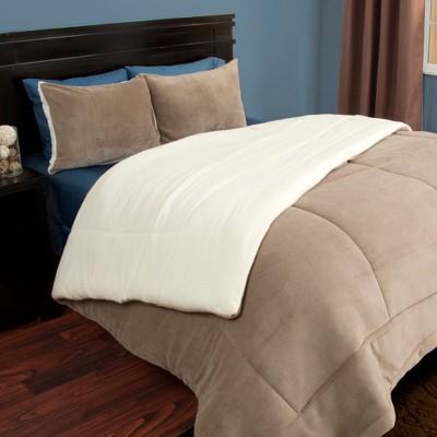 Sherpa Fleece Comforter Set - Yorkshire Home®