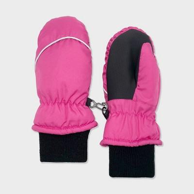 Baby Girls' Ski Mittens - Cat & Jack™ Hot Pink