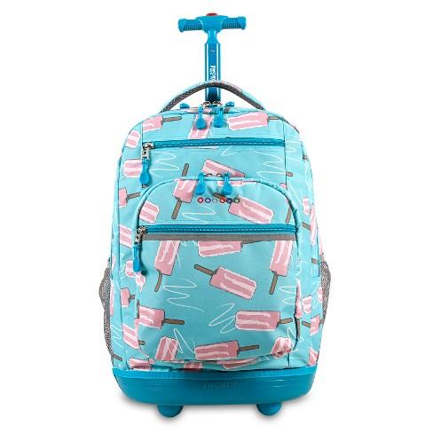 "J World 20"" Sundance Laptop Rolling Backpack - Ice Pop - image 1 of 4"