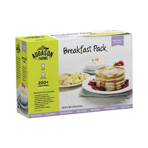 Augason Farms Breakfast Pack Emergency Food Storage Variety Kit - 13lb/6pk - image 1 of 9