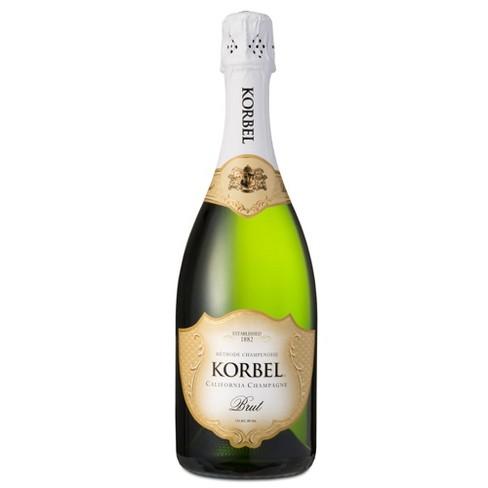 Korbel Brut Champagne - 750ml Bottle - image 1 of 1
