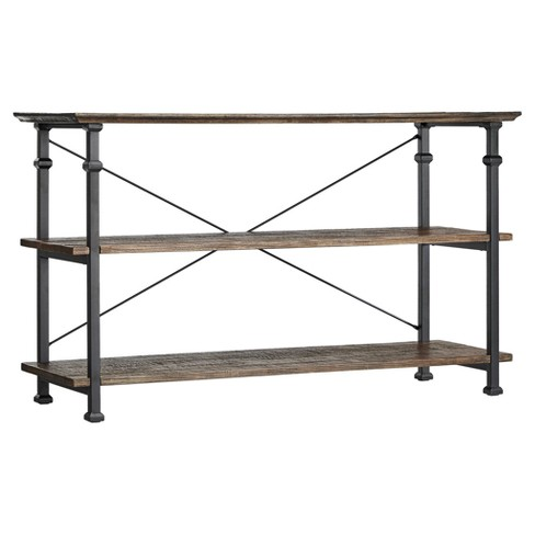 Ronay Rustic Industrial Console Table - Inspire Q® - image 1 of 4