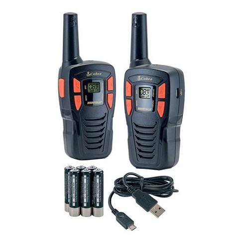Cobra 16 Mile Range FRS Value 2 Pack - Black (CXT145) - image 1 of 4